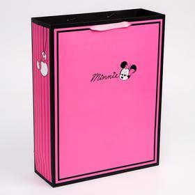 """Пакет ламинат вертикальный """"Minnie"""", Минни Маус, 31х40х11 см"""