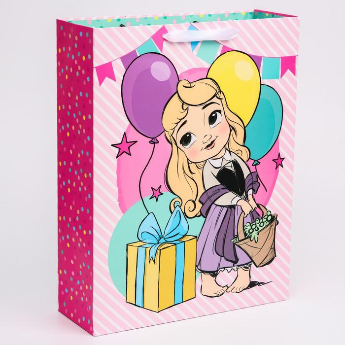 """Пакет ламинат вертикальный """"Принцессы"""", Принцессы, 31х40х11 см"""