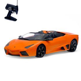 Машина радиоуправляемая Lamborghini Reventon, масштаб 1:10, работает от аккумулятора, свет, МИКС,