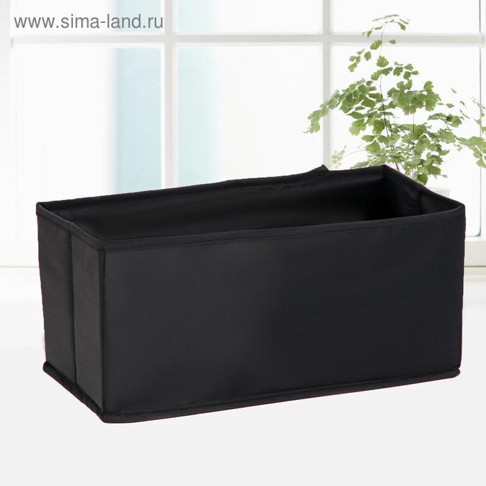 """Carrying case for storage 14х28х13 cm """"Amoret"""" Oxford, color black"""