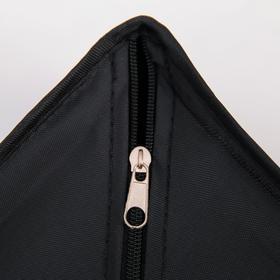 Органайзер для белья «Аморет», 4 ячейки, 28×28×13 см, оксфорд, цвет чёрный - фото 4641175