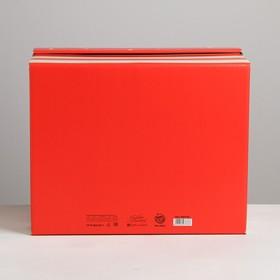 Складная коробка «Новогодний», 31,2 × 25,6 × 16,1 см
