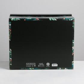 Складная коробка «Волшебного нового года», 31,2 × 25,6 × 16,1 см