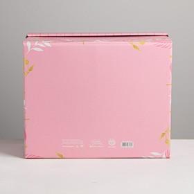Складная коробка «Теплоты», 31,2 × 25,6 × 16,1 см