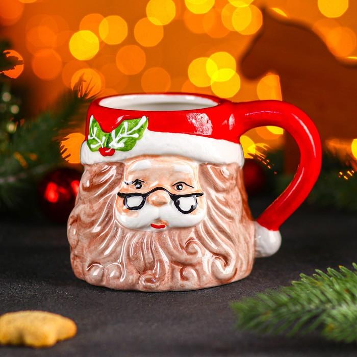 """Circle """"New year. Santa Claus"""" 300 ml, 14х11х10 cm"""