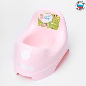 Горшок детский COOL, цвет розовый пастельный