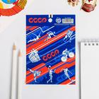"Stickers ""Soviet sport"", 11 x 15.5 cm"