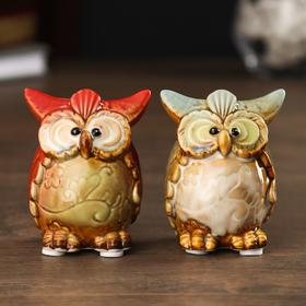 "Souvenir ceramic ""owl-eyed"" MIX 7х5х5 cm 2554013"