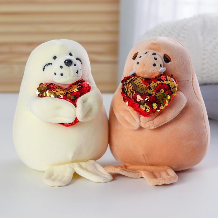 Мягкая игрушка «Тюлень Тёмка» МИКС - фото 105614498