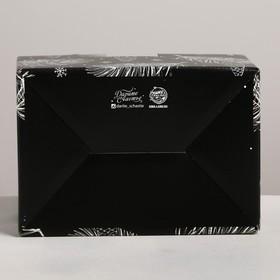 Складная коробка «Новый год», 22 × 15 × 10 см