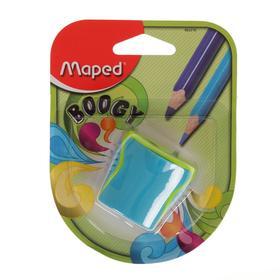 Точилка 2 отверстия с контейнером Maped Boogy, блистер