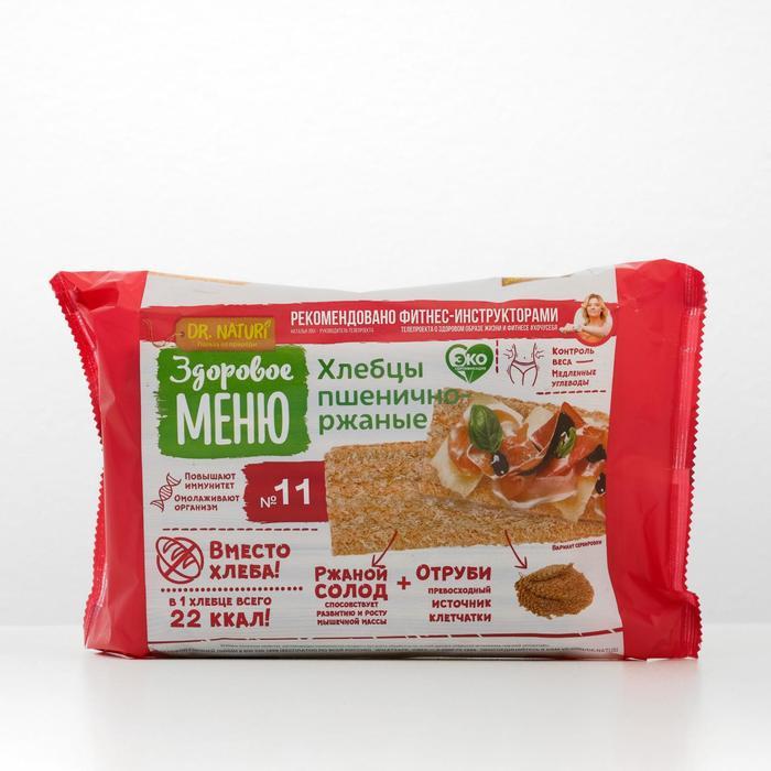 """Хлебцы ржаные """"Здоровое Меню""""№11  в коррексе, 90 г - фото 17362"""