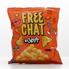Corn snacks FREE CHAT with taste of cheese, 50 g