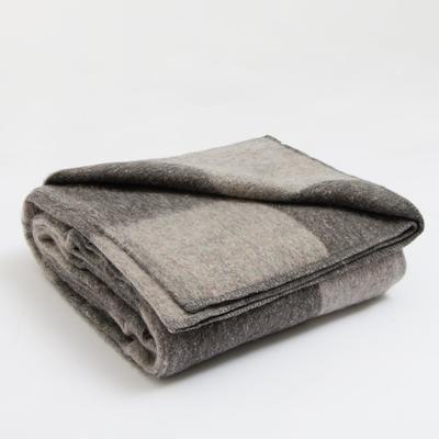 Blanket wool blend Economy 140х205 cm, Odnotan MIX, 380-400 g/m2