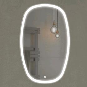 Зеркало COMFORTY «Космея-50» 500х800 мм, светодиодная лента, сенсор