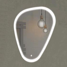 Зеркало COMFORTY «Олеандр-70» 700х900 мм, светодиодная лента, сенсор