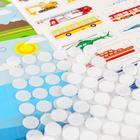 Игра на липучках «Весёлые липучки. Изучаем транспорт» Сделай сам - фото 105527382