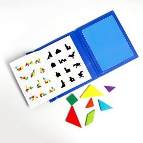 Магнитный танграм «В книжке» 1,5×18×22 см