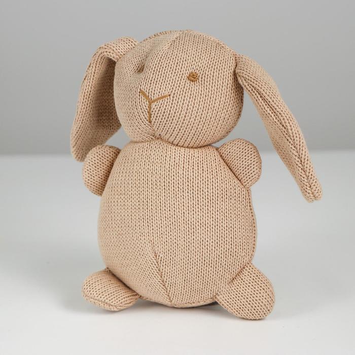 Мягкая игрушка «Зайка», вязаный, цвета МИКС - фото 4468006