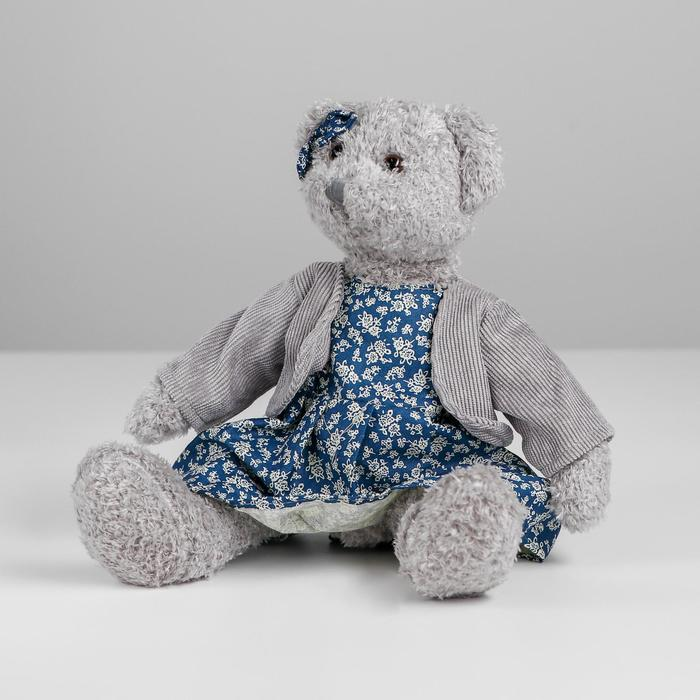 Мягкая игрушка «Мишутка», цвет серый, виды МИКС - фото 4471445
