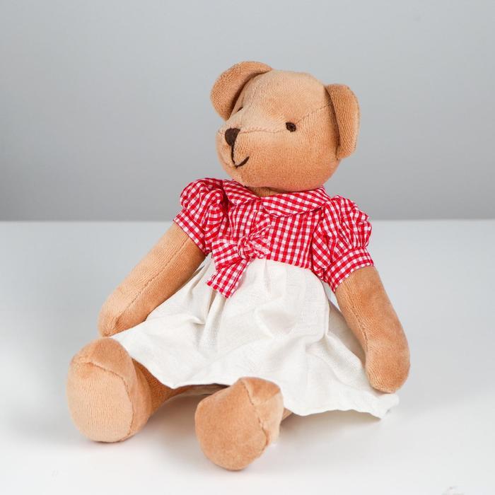Мягкая игрушка «Мишутка», в одежде, виды МИКС - фото 105610373