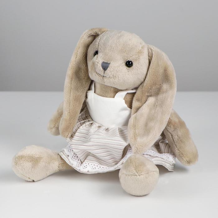 Мягкая игрушка «Зайка», в одежде, виды МИКС - фото 4471451