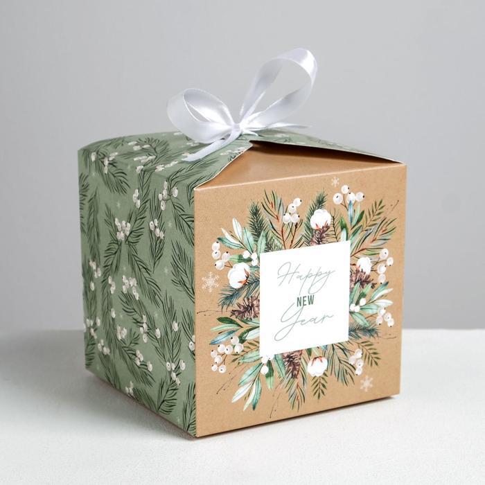 Складная коробка «Волшебство», 12 × 12 × 12 см - фото 282123871