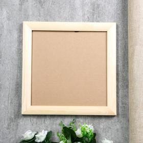 Photo frame pine 35 25x25 cm colorless
