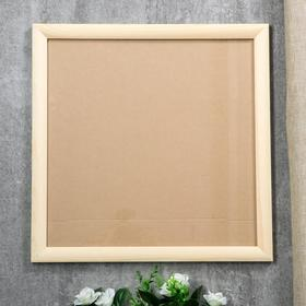 Photo frame pine 35 40x40 cm colorless