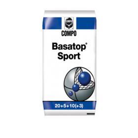 Комплексное гранулированное удобрение Compo  для Газонов Basatop Sport, 25 кг