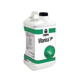 Жидкое органо-минеральное удобрение Compo для газонов Vitanica P3, 10 л