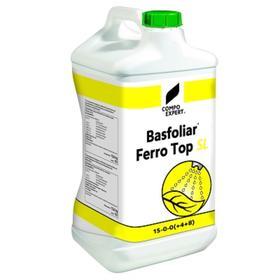 Жидкое органо-минеральное удобрение для газонов Basfoliar Ferro Top SL Compo, 10 л