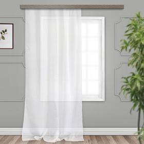 Curtain Tulle devore Drops JYB034 500x275 cm, white, pe 100%