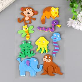 "Stickers from EVA ""Animals"" (set 9 PCs) assorted"
