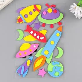 """Stickers from EVA """"Space"""" (set 11 PCs) assorted"""