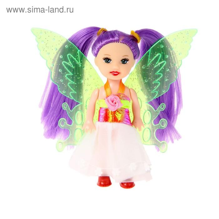 "Кукла малышка ""Волшебница"" с хвостиками, МИКС"