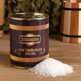 Английская соль для бани в банке 800г. Ош