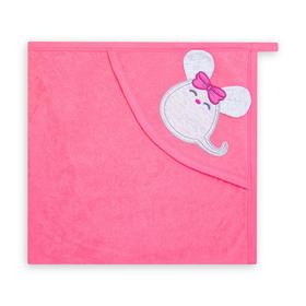 Уголок детский, цвет розовый/мышка, (0-3 мес.)
