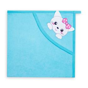 Уголок детский, цвет голубой/кошка, (0-3 мес.)