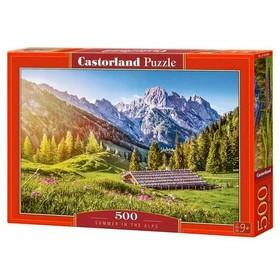 Пазл 500 элементов «Лето в Альпах»