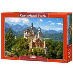 Пазл 500 элементов «Вид на замок Нойшванштайн»