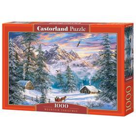 Пазл 1000 элементов «Зимой в горах»