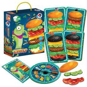 Магнитная игра «Бургер»