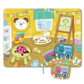 Пазл-сортер 5 элементов «Детская комната»