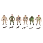 "Soldier ""special Forces"", set of 6 PCs"