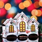 """Чайный домик новогодний """"Игрушки"""", цветной, 20×28.7×11 см - фото 492638"""