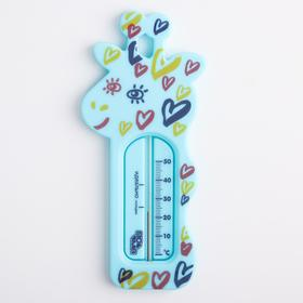 "Термометр для воды ""Жираф"", цвет МИКС"