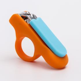 Щипчики для ногтей, цвет МИКС