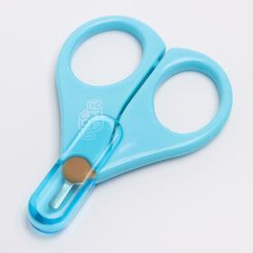 Ножницы с колпачком, цвет МИКС