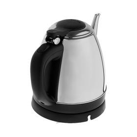 Чайник электрический GELBERK GL-332, 1360 Вт, 1.2 л, серебристый